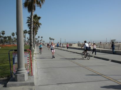 Bikes Hermosa Beach The Santa Monica Bike Path