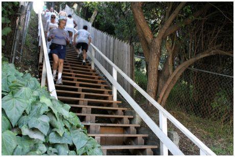 Exercise La Santa Monica Steps